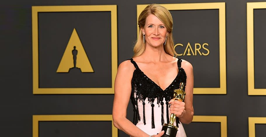 Oscars: It's not just the golden statue but the stars' fabric too