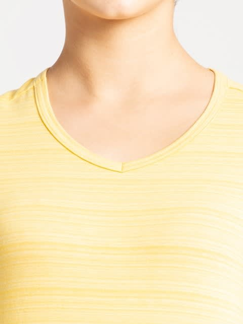 Banana Cream V-Neck T-Shirt