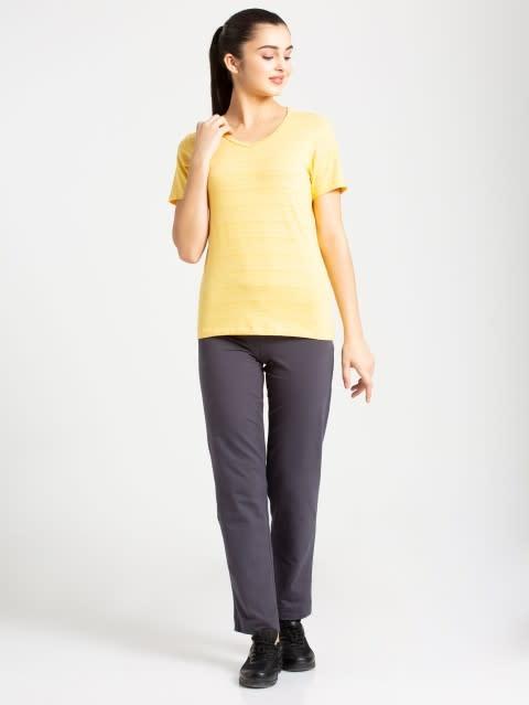 Banana Cream V-Neck T-Shirt
