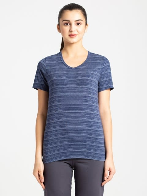 Imperial Blue V-Neck T-Shirt