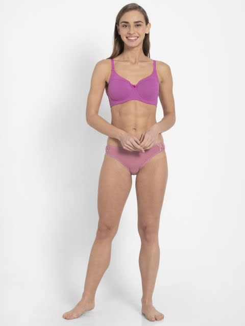Lavender Scent Full Coverage Wired Bra
