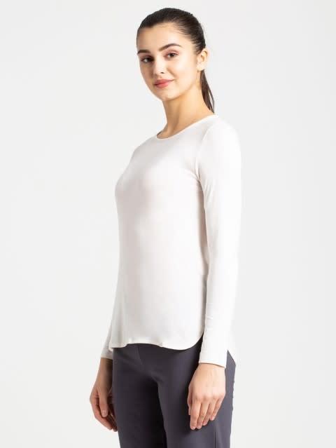Ecru Melange T-Shirt