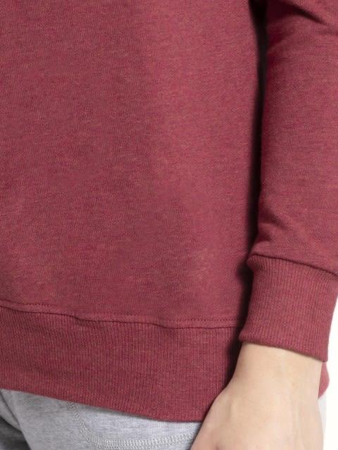 Rust Red Melange Sweatshirt