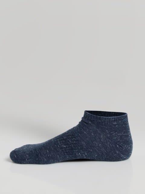 Navy Mens Low Show Socks