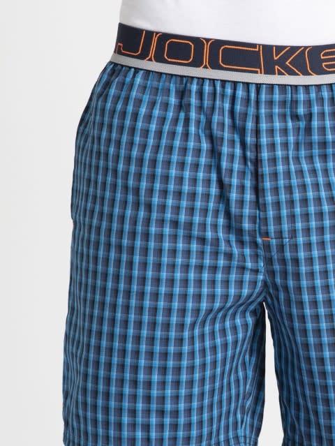 Blue Checks Boxer shorts