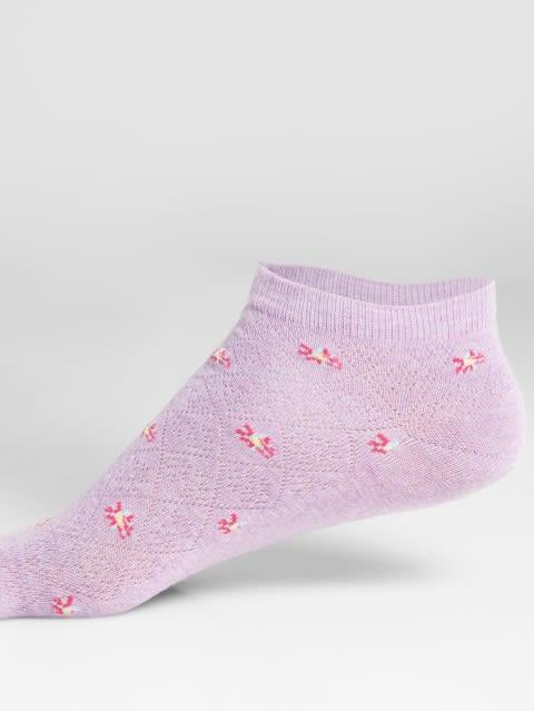 Lil Melange Women Low Show Socks