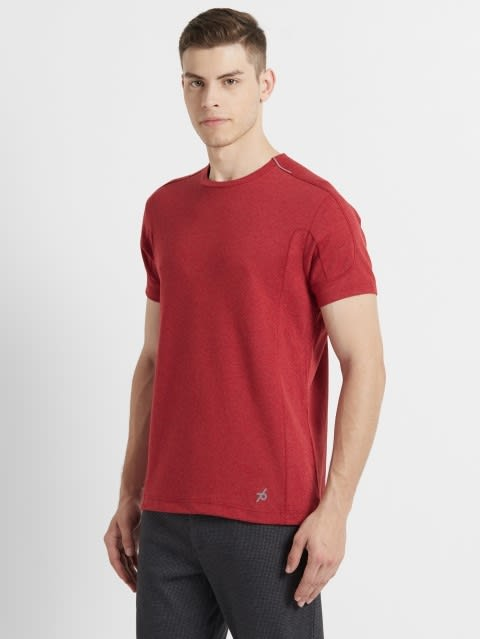 Brick Red Melange T-Shirt