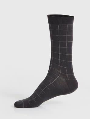 Gunmetal Men Formal Socks