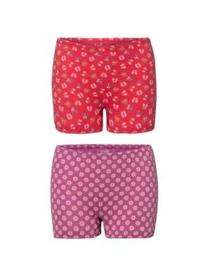 Assorted Prints Girls Bloomers Pack of 2