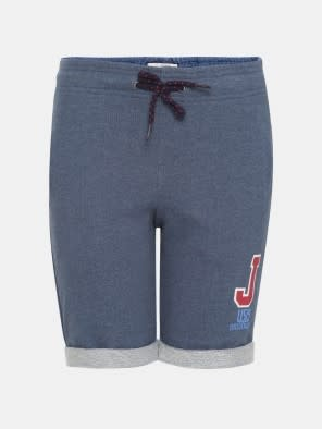 Insignia Blue Melange Boys Shorts
