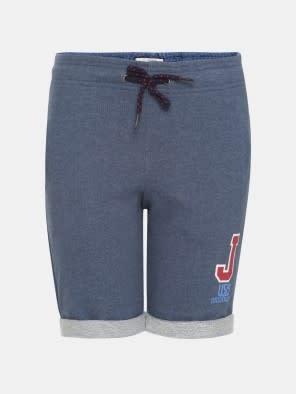 Insignia Blue Melange Boys Shorts