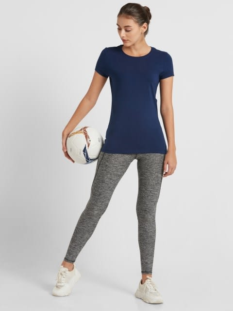 Imperial Blue Round Neck T-Shirt