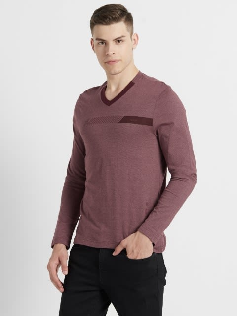 Mauve Wine & Twlig Mauve Long Sleeve T-Shirt
