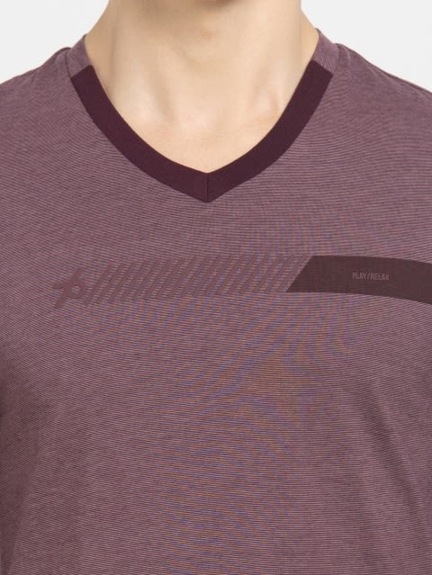 Mauve Wine & Twlig Mauve Long Sleeve T-Shirt