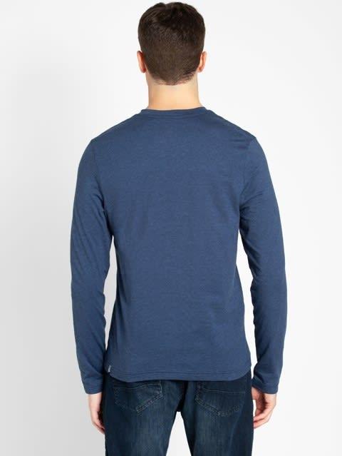 Jet Navy & Bijou Blue Long Sleeve T-Shirt