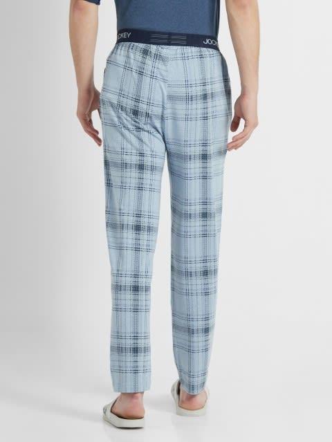 Light Blue Des1 Regular Fit Pyjama