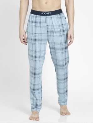 Light Blue Des1 Regular Fit Pyjama