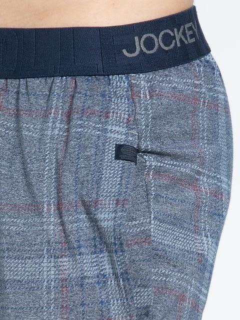 Mid Blue Des1 Regular Fit Pyjama