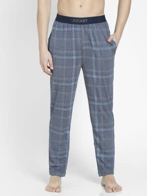 Mid Blue Des1 Regular Fit Pyjama
