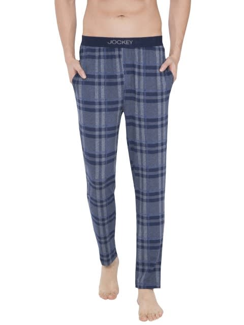 Mid Blue Des2 Regular Fit Pyjama