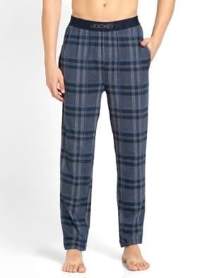 Mid Blue Des2 Regular Fit Pyjama