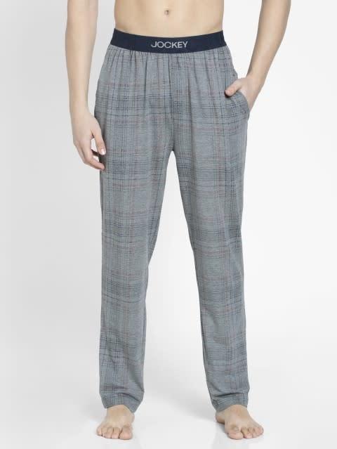 Mid Grey Des1 Regular Fit Pyjama