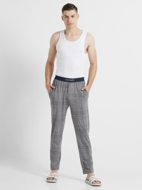 Mid Grey Des1 Regular Fit Pyjama