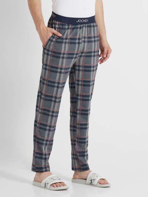 Mid Grey Des2 Regular Fit Pyjama