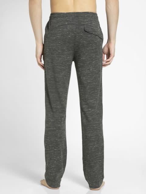 Forest Dark Grey Melange Slim Fit Track Pant