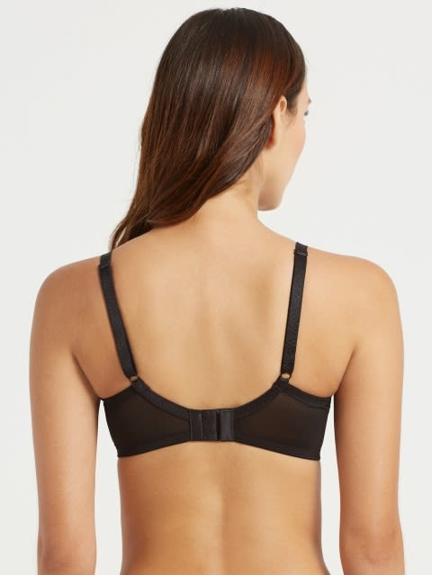 Black Soft Cup Spacer Bra
