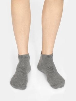 Assorted Colors Men Low Show Socks Pack of 3