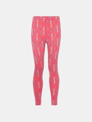 Camellia Rose Printed Girls Leggings