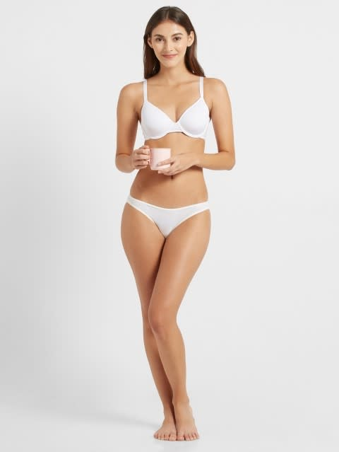 White Underwired spacer cup bra
