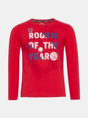 Team Red Boys Long Sleeve T-Shirt