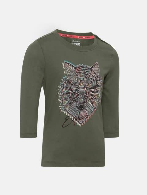 Beetle Spot Print Girls T-Shirt