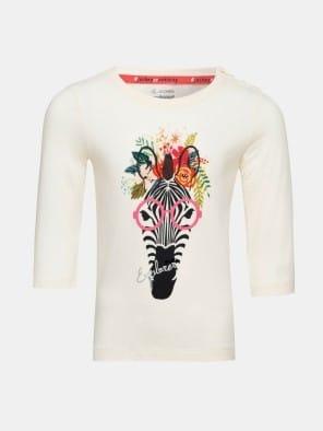 Gardenia Spot Print Girls T-Shirt