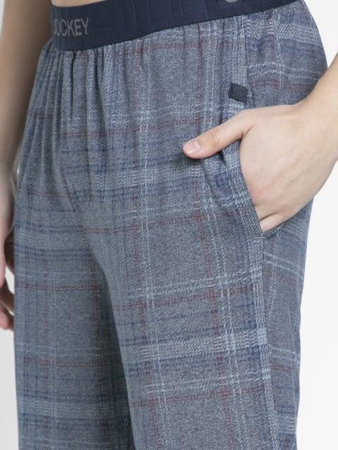 Mid Blue Print1 Regular Fit Shorts