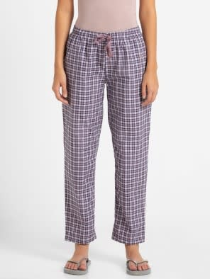 Old Rose Assorted Checks Long Pant