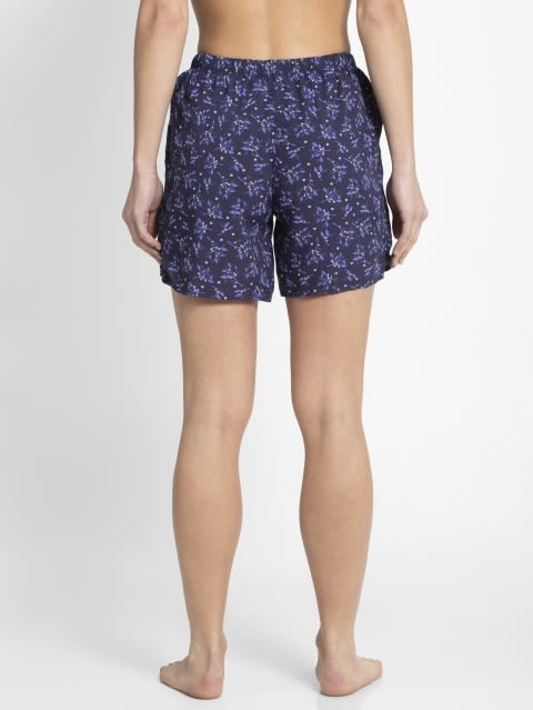 Classic Navy Assorted Prints Woven Shorts