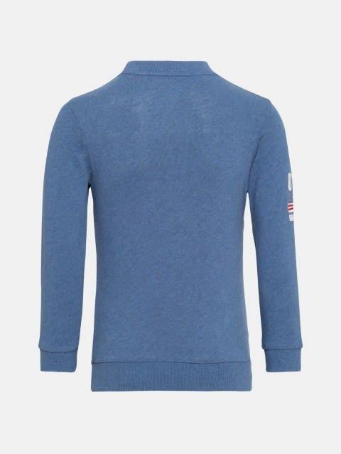 Light Denim Melange Boys Sweatshirt