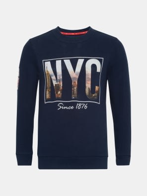 Navy Boys Sweatshirt