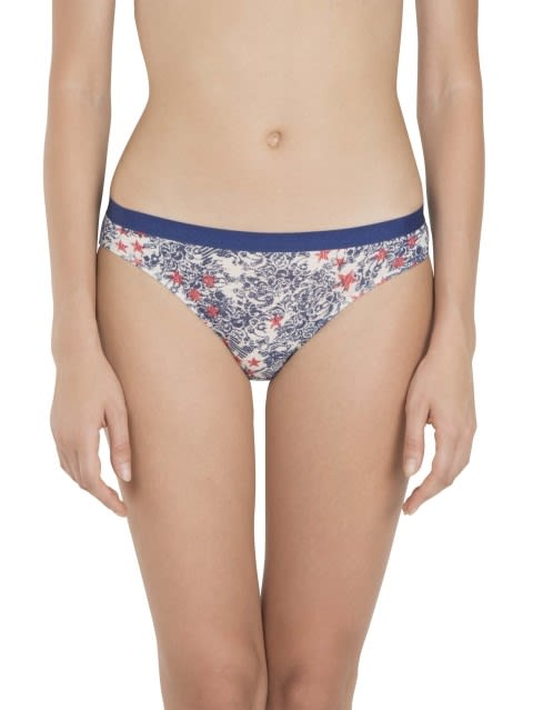 Cream Melange Print81 Bikini
