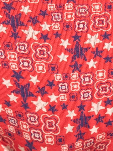 Hibiscus Red Print94 Boyleg