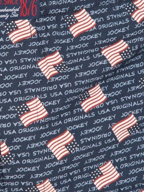 Navy Print97 Boxer Shorts