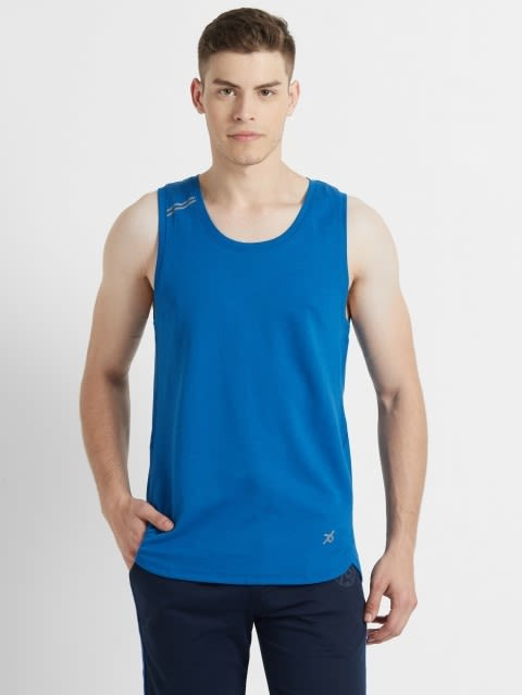 Move Blue Tank Top