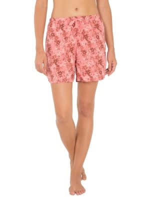 Peach Blossom Assorted Prints Woven Shorts