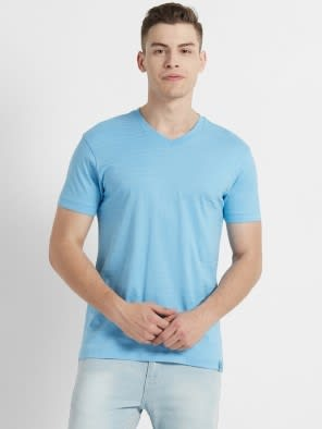 Alaskan Blue V-Neck T-Shirt