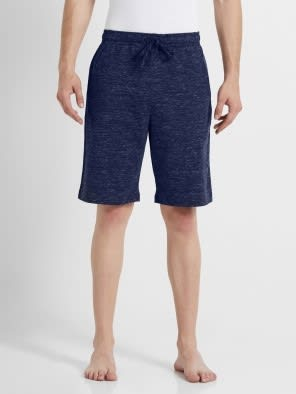 Navy Snow Melange Performance Shorts