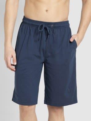 Insignia Blue & Navy Knit Sport Shorts