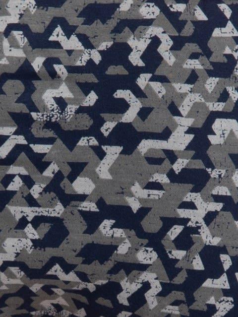 Navy & Ash Grey Print36 Brief